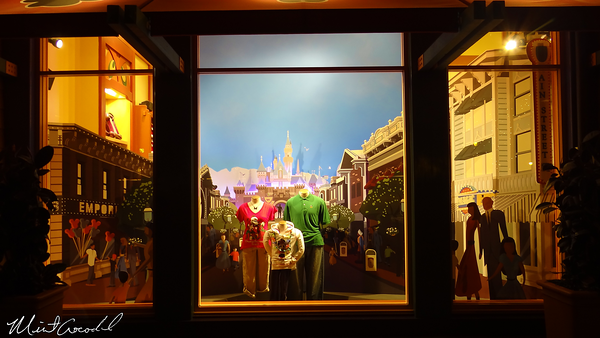 Disneyland Resort, Downtown Disney, World of Disney, Window, Disneyland, Main Street U.S.A.