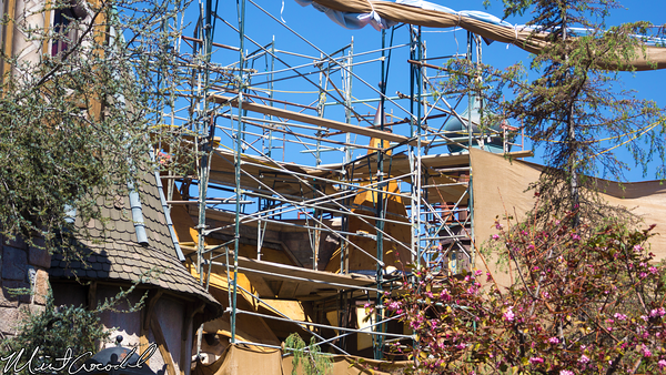Disneyland Resort, Disneyland, Fantasyland, Pinocchio's, Daring, Journey, Facade, Refurbishment, Refurbish, Refurb