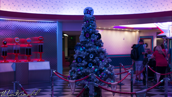 Disneyland Resort, Disney California Adventure, Cars Land, Christmas, Time, FLo's V8 Cafe