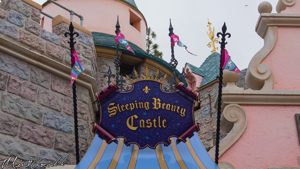 Disneyland Resort, Disneyland, Sleeping Beauty Castle, Walk Through