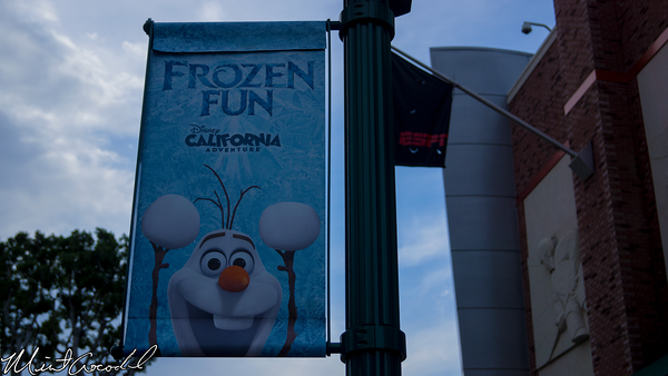 Disneyland Resort, Downtown Disney, Frozen, Fun, Banner