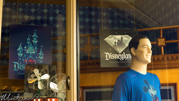 Disneyland Resort, Disney California Adventure, Buena, Vista, Street, Five, Dime, Disneyland60, 60, Anniversary, Celebration, Window, Display