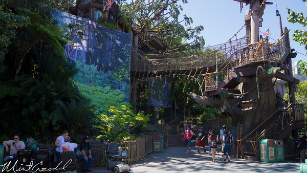 Disneyland Resort,, Disneyland, Adventureland, Tarzan, Treehouse, Refurbishment, Refurbish, Refurb