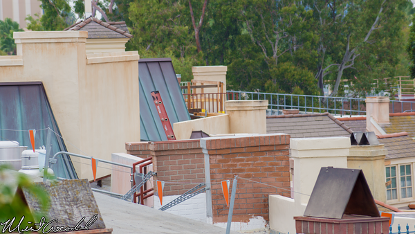 Disneyland Resort, Disneyland, New Orleans Square, Rooftop, Club 33, Refurbishment, Refurbish, Refurb