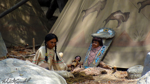 Disneyland Resort, Disneyland, Frontierland, Indian Village, Children, Limited, Time, Magic