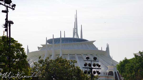 Disneyland Resort, Disneyland, Space Mountain, Safety Rail