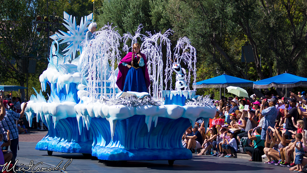 Disneyland Resort, Disneyland, Frozen, Float, Parade, Soundsational