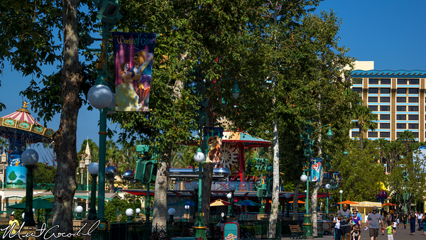 Disneyland Resort, Disney California Adventure, World of Color, Flags, Paradise Pier