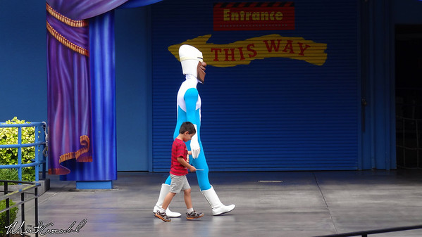 Disneyland Resort, Disney California Adventure, Frozone