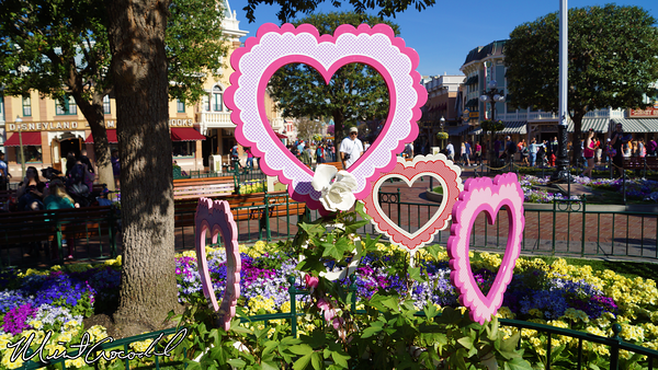 Disneyland Resort, Disneyland, Main Street U.S.A., Valeninte's Day
