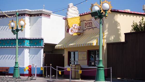 Disneyland Resort,  Disney California Adventure, Paradise Pier, Ice Cream