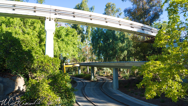 Disneyland Resort, Disneyland, Tomorrowland, Transportation, Monorail, Autopia