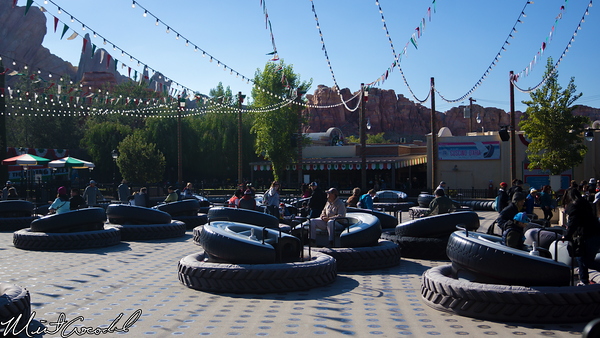 Disneyland Resort, Disney California Adventure, Cars Land, Luigi's, Flying, Tires