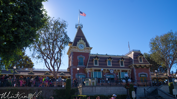 Disneyland Resort, Disneyland, Christmas Time, Christmas, Time, Main Street U.S.A., Train, Station