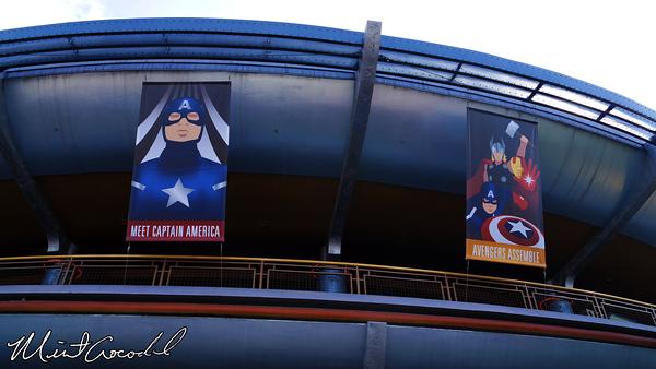 Disneyland Resort, Disneyland, Innoventions, Thor, Iron Man, Captain America