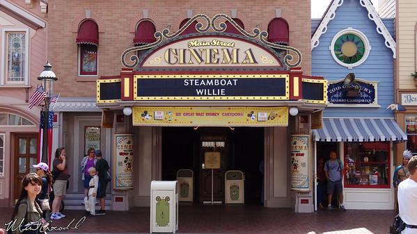 Disneyland Resort, Disneyland, Main Street U.S.A., Main Street Cinema