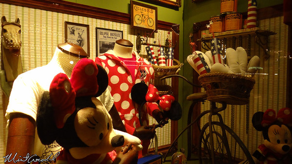 Disneyland Resort, Disneyland, Main Street U.S.A., Emporium, Windows
