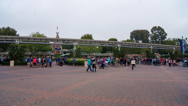 Disneyland Resort, Disneyland, Main, Entrance, Plaza