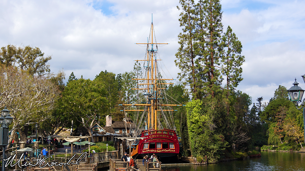 Disneyland Resort, Disneyland, Sailing Ship Columbia