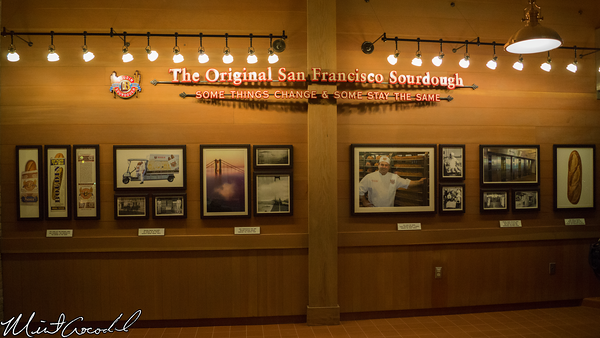 Disneyland Resort, Disney California Adventure, Pacific Wharf, Boudin, Sourdough, Bakery, Tour