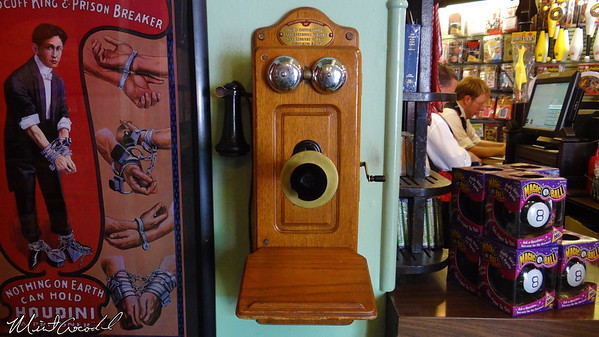 Disneyland Resort, Disneyland, Main Street U.S.A., Magic Shop, telephone
