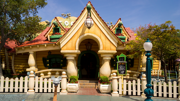 Disneyland Resort, Disneyland, Mickey, Toontown, Toon, Town, House