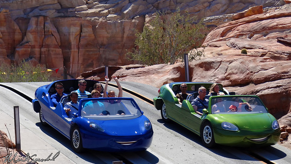 Disneyland Resort, Disneyland Resort, Disney California Adventure, Cars Land, Radiator Springs Racers