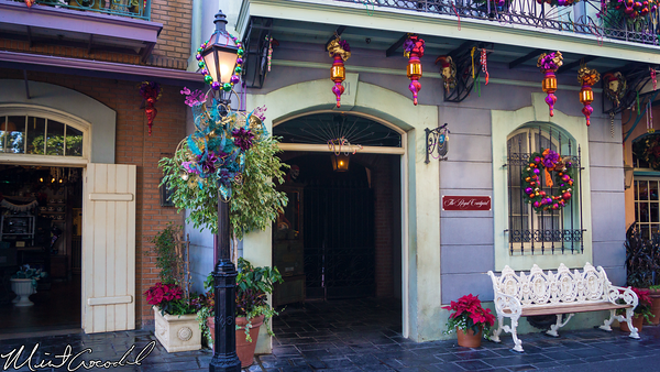 Disneyland Resort, Disneyland, New Orleans Square, Royal Courtyard, Refurbishment, Refurb, Refurbish