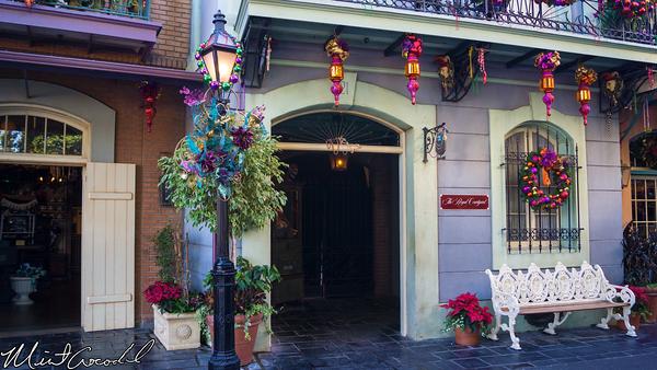Disneyland Resort, Disneyland, New Orleans Square, Royal Courtyard, Refurbishment, Refurb, Refurbish