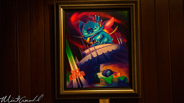 Disneyland Resort, Disneyland, Stitch, Mountain