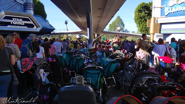 Disneyland Resort, Disneyland, Tomorrowland, Stroller, Parking, Christmas Time