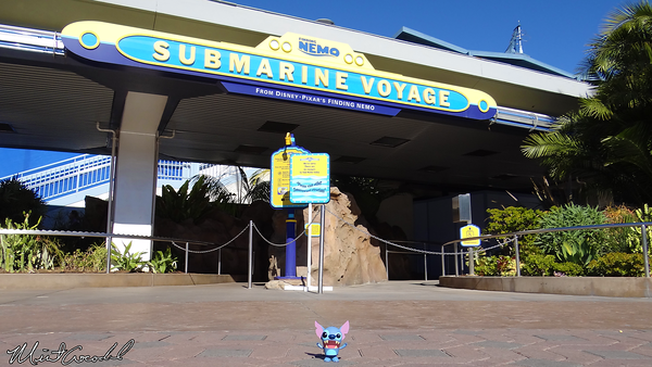 Disneyland Resort, Disneyland, Finding Nemo Submarine Voyage, Refurbishment, Refurb, Stitch