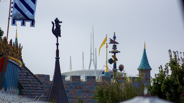 Disneyland Resort, Disneyland, Peter Pan, Rooftop, Space Mountain