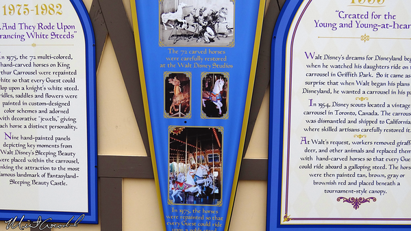 Disneyland Resort, Disneyland, Fantasyland, King Arthur Carrousel, Refurbishment, Refurb