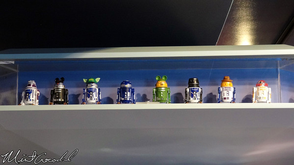 Disneyland, Tomorrowland, Startrader, Star Wars, Droid Factory