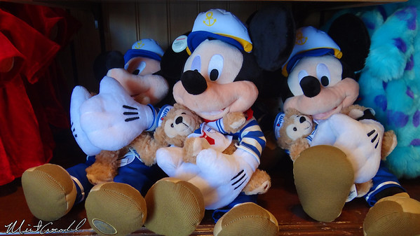 Disneyland Resort, Disney California Adventure, Plush, Mickey, Duffy