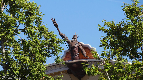 Disneyland Resort, Disney California Adventure, Little Mermaid, King Triton