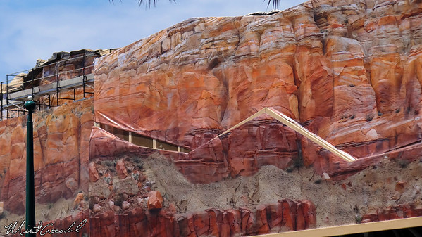 Disneyland Resort, Camouflage, Tarps, Cars Land, Cadillac Range, Limited, Time, Magic