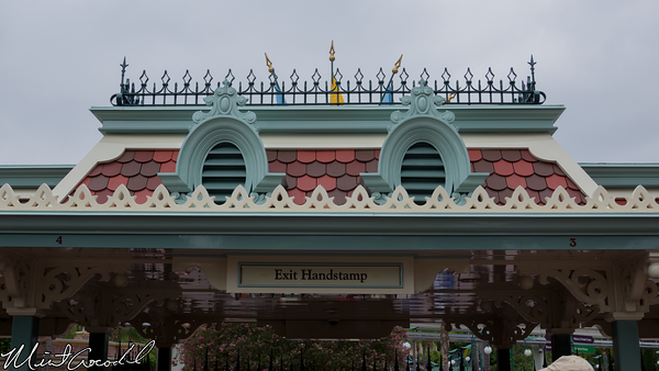 Disneyland Resort, Disneyland, Exit, Turnstile