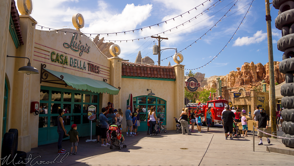 Disneyland Resort, Disneyland60, Disney California Adventure, Cars Land, Luigi, Flying, Tires, Refurbishment, Refurbish, Refurb, Festival, Dancing, Dance