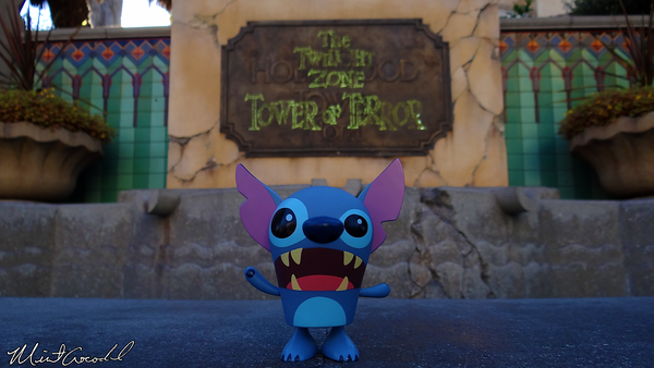 Disneyland Resort, Disney California Adventure, Hollywoodland, Tower of Terror, Stitch