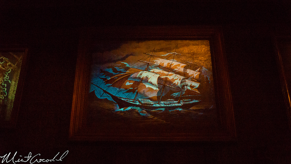 Disneyland Resort, Disneyland, Haunted Mansion, Portrait, Ship, Attic, Lenticular, Window