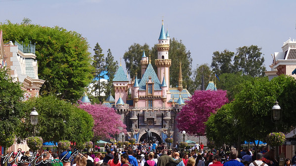 Disneyland, Main Street USA, Sleeping Beauty Castle