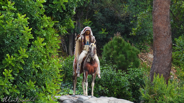 Disneyland Resort, Disneyland, Rivers of America, Indian Chief