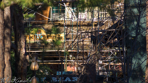 Disneyland Resort, Disneyland, Critter Country, Refurbishment, Refurbish, Refurb, 2015, Hungry, Bear