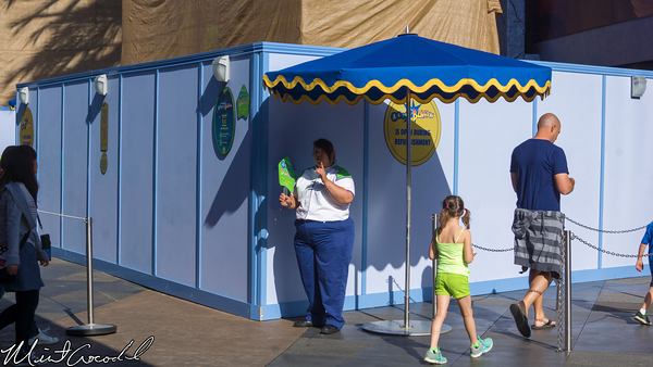 Disneyland Resort, Disneyland, Tomorrowland, Buzz, Lightyear, Astro, Blasters, Facade, Refurbishment, Refurbish, Refurb