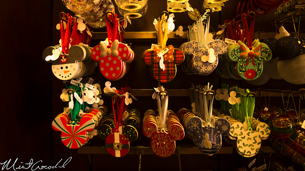 Disneyland Resort, Disneyland, Main Street U.S.A., Emporium, Christmas, Retro, Vintage, Ornament