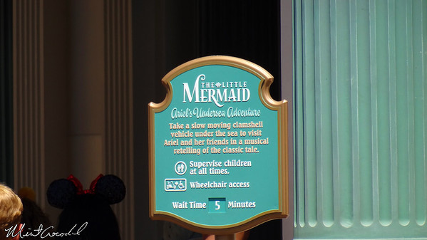 Disneyland Resort, Paradise Pier, Little Mermaid