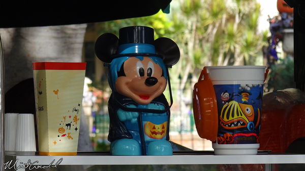 Disneyland Resort, Disneyland, Mickey, Hatbox Ghost, Popcorn Bucket