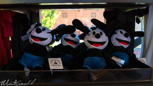 Disneyland Resort, Disney California Adventure, Buena Vista Street, Oswald, Lucky Rabbit, Plush
